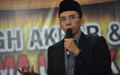 Gempa Lombok Dipolitisasi, TGB Sebut Cacat Iman