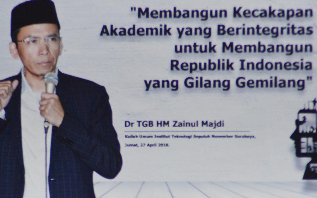 Denny JA, TGB Suarakan isu Kuatkan Ekonomi Umat