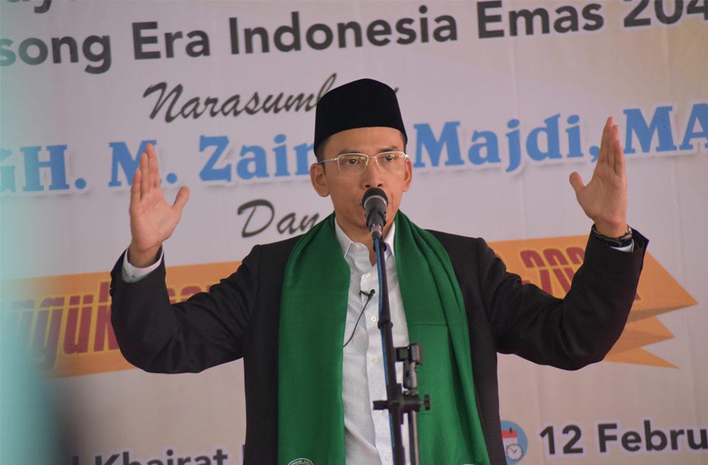 Pesan Islam dan Kebangsaan TGB
